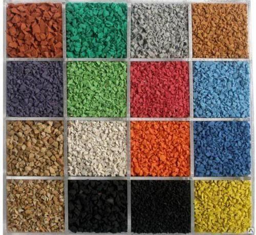 Комплектующие для резинового покрытия